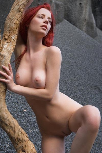 Ariel Sculpture On Mars