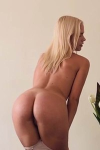 Adorable blonde beauty Whitney C showcases her slender body