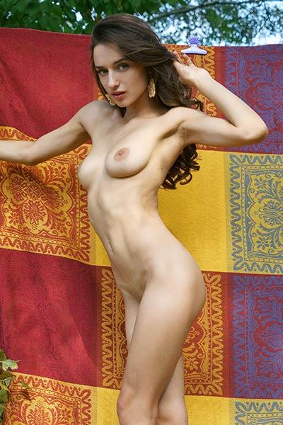 Gloria Sol has such wonderful breasts with big dark areolas
