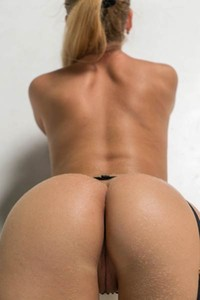 Mesmerizing Xana D wants you to look at her while she slowly strips and bends over for you