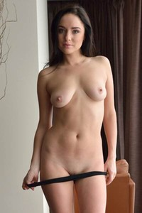 Nika A walks around her home completely naked waiting for you to bang her intensively