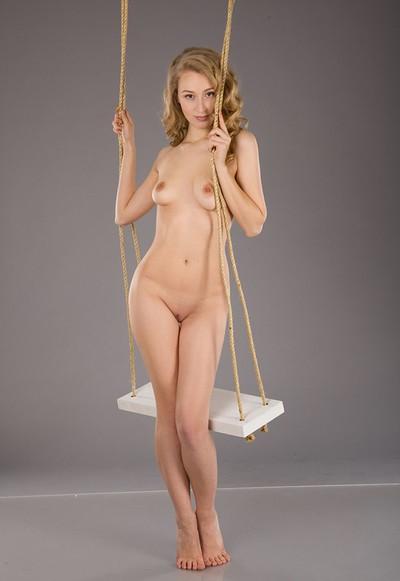 Angel C in Swing from Femjoy