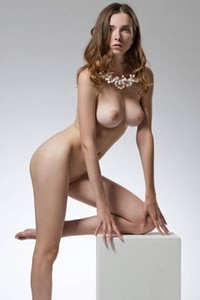 Perfectly shaped and  all natural body of Mariposa is every man dream