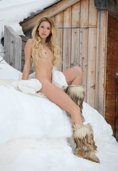 Amber A in A Hot Winter Day from Femjoy