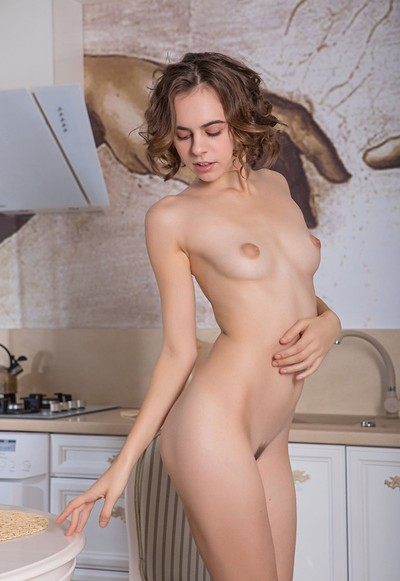 Gracie in On My Knees from Femjoy