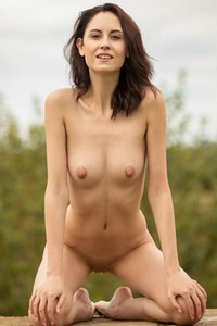 If you love skinny small titted chicks with brown hair this is for you