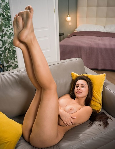 Angelina S in Lounging Around Naked from Femjoy