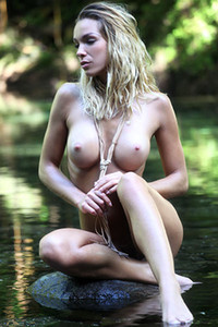 Amber A in River Nymph from Femjoy