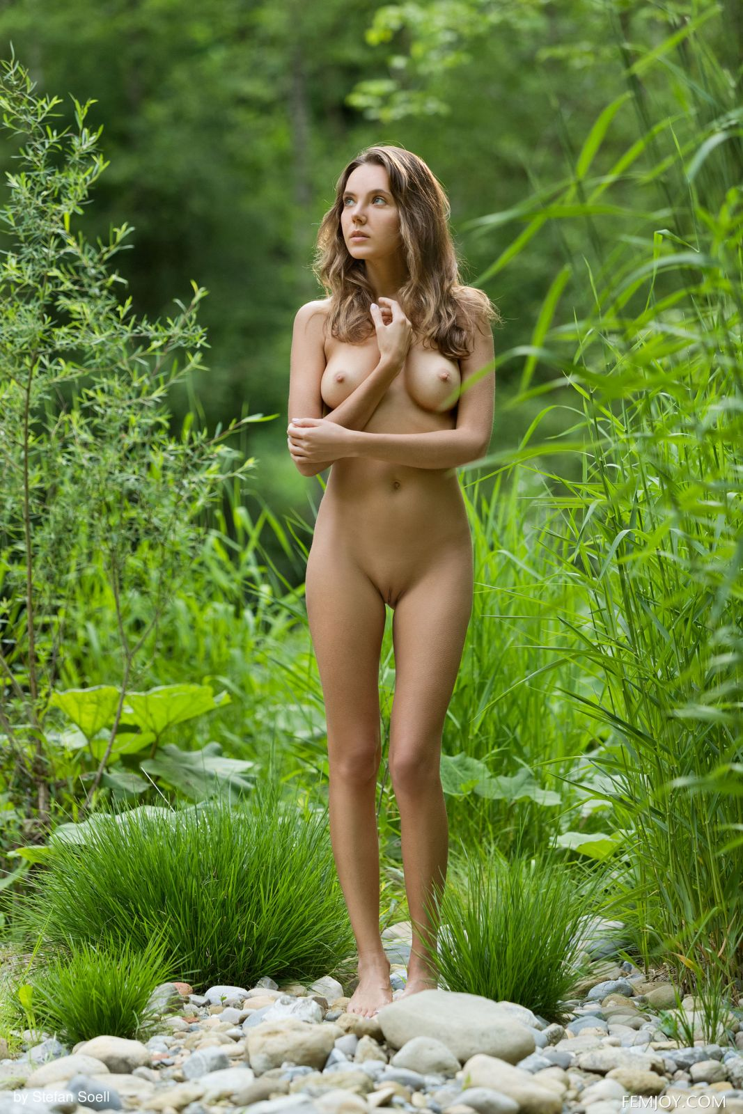 Naked girls in the woods Clover Nude In Babe In The Woods At Femjoy Hunter